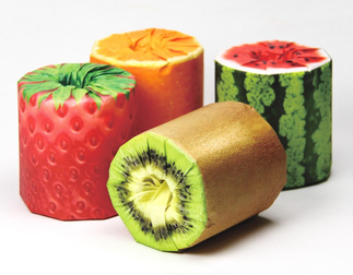 Fruity Toilet Paper - Packaging Paper